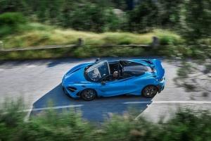 «Паучок-кабриолет»: McLaren представила новый спорткар