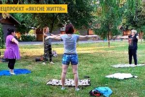 У Мукачеві проводять відкриті групові заняття, щоб підготуватися до третьої хвилі COVID-19