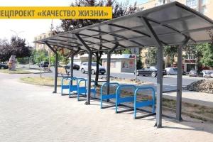 В Ужгороде установили первые крытые велопарковки