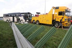 В Польше автобус с детьми столкнулся с грузовиком - 12 пострадавших