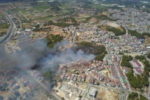 В Анталії спалахнула масштабна лісова пожежа – евакуювали п'ять населених пунктів