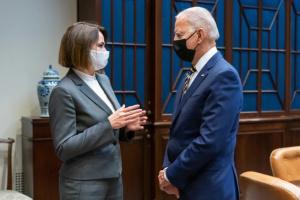 Байден зустрівся з лідеркою білоруської опозиції Тихановською