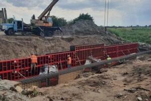 На Львівщині ремонтують міст на дорозі Пирятин – Гораєць