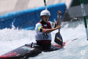 Веслувальниця Вікторія Ус стала сьомою у слаломі на каное в Токіо-2020