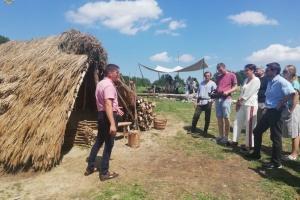 У заповіднику «Давній Пліснеськ» відтворили автентичне житло слов'ян Х століття
