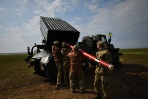 ВСУ провели испытания нового реактивного снаряда «Тайфун-1»