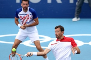 Теніс: хорвати здобули «золото» і «срібло» у парному фіналі Ігор-2020