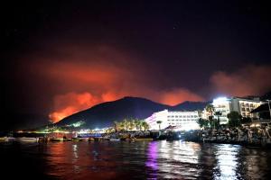 В Анталії через пожежі ввели заборону на відвідування лісів