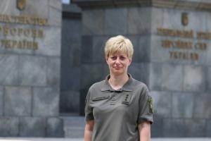 У Збройних силах України призначили першу жінку-командувача