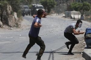 Столкновения на Западном берегу реки Иордан - пострадали 270 палестинцев