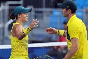 Австралія взяла «бронзу» Олімпіади в тенісному міксті на відмові Сербії