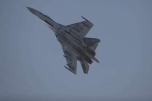 У Росії розбився винищувач Су-35