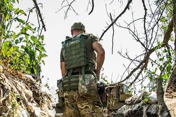Escalade dans le Donbass : 26 attaques, un militaire ukrainien blessé