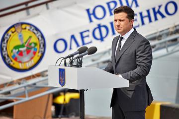 Volodymyr Zelensky : La production du nouveau navire de guerre de l'Ukraine commence en Turquie