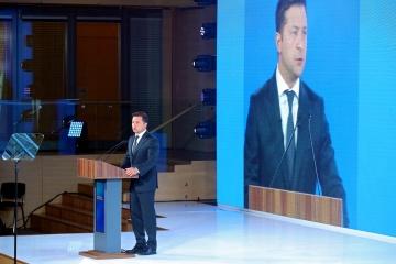 Volodymyr Zelensky ouvre le forum « Ukraine 30. Politique internationale »
