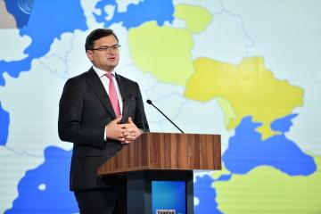 Kuleba espera varias decisiones trascendentales de la cumbre UE-Ucrania