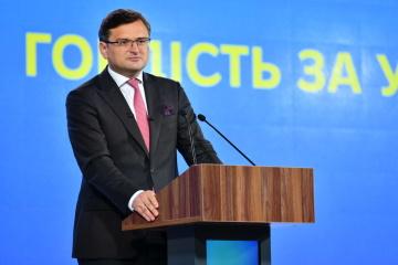 Dmytro Kuleba: Kyiv entame des consultations avec l'UE et l'Allemagne à propos de Nord Stream 2
