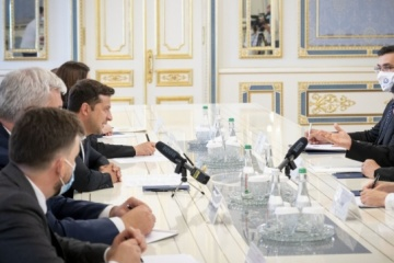 Zollreform: Selenskyj trifft sich mit Generalsekretär von Weltzollorganisation Mikuriya