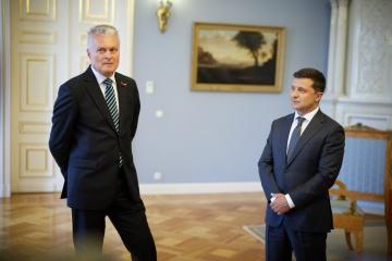 Selenskyj und Nauseda treffen sich in Vilnius
