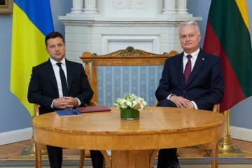 Gitanas Nausėda : Une des missions les plus importantes des autorités ukrainiennes est la promotion de la justice comme valeur morale