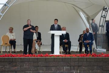 Volodymyr Zelensky rencontre des dirigeants européens et lituaniens à Vilnius