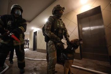 Kyjiw: Mann verletzt zwei Personen und legt Feuer in Wohnung: Polizei nimmt ihn fest