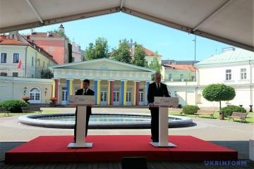 Gitanas Nausėda : L'Ukraine doit jouer un rôle important dans un contexte européen et mondial plus large.