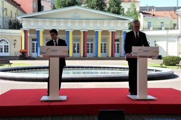 Gitanas Nausėda exhorte les leaders européens  à ouvrir à l'Ukraine la voie à l'intégration dans l'UE