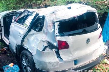 In Oblast Iwano-Frankiwsk Verkehrsunfall mit vier Toten