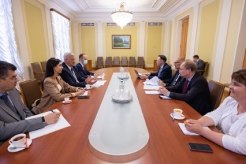 President's Office, PACE delegation discuss course of reforms in Ukraine