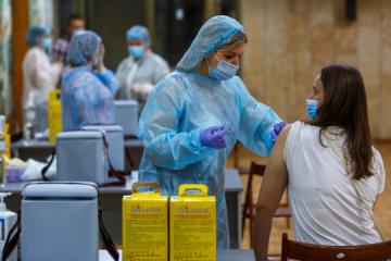 Neuer Tagesrekord bei Corona-Impfungen in Ukraine