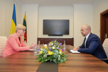 Shmyhal meets with Lithuanian PM