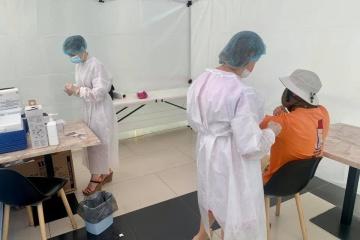 Knapp 162.000 Menschen in Ukraine binnen eines Tages gegen Covid-19 geimpft