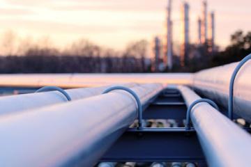 Die Ukraine stellt Einpumpen von Gas in Speicheranlagen ein