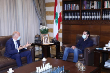 Ukrainian ambassador, Lebanon PM discuss cooperation between two countries