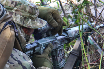 Ukrainian intelligence officers participate in Breeze 2021 exercise