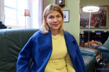 Stefanyschyna begibt sich zum zweitägigen Besuch nach Frankreich