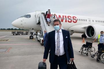 Sefcovic arrives in Ukraine
