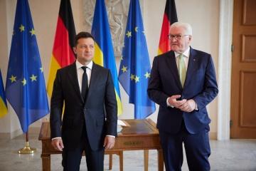Zełenski i Steinmeier spotkali się w Berlinie