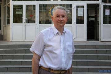 Anatolii Polioviy, académicien, chef du département d'agrométéorologie, Université de l'environnement d'Odessa