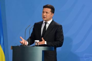 ウクライナ国境からのロシア軍撤退は実質的に生じていない=ゼレンシキー大統領
