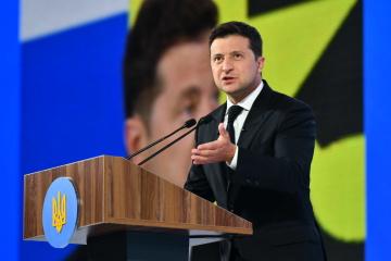 Zelensky: La celebración de la reunión del formato Normandía depende de Rusia