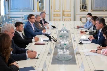 Selenskyj erörtert mit Maros Sefcovic Energiesicherheit
