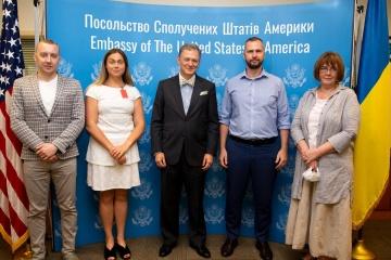 Former Kremlin's prisoners meet with U.S. Deputy Assistant Secretary of State