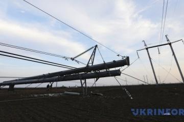 Unwetter in der Ukraine sorgt für Stromausfall in 60 Ortschaften