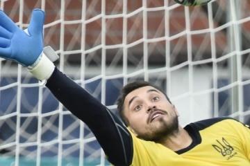 El ucraniano Bushchan en el top 6 de porteros de la Eurocopa 2020 por el número de paradas