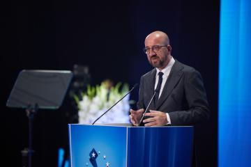 Charles Michel : l'Ukraine ne sera jamais seule et la Crimée, c'est l'Ukraine