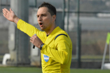 Ukrainian referees to officiate at Champions League qualifier