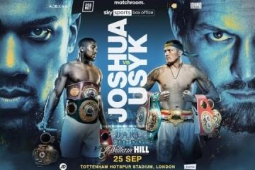 Boxen: Kampf Usyk – Joshua offiziell terminiert