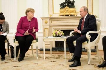 Merkel rozmawiała z Putinem o Nord Stream 2 i Porozumieniach mińskich